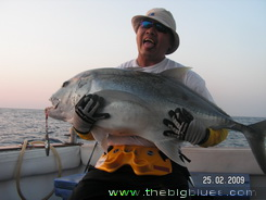 Andaman Islands GT on jigging